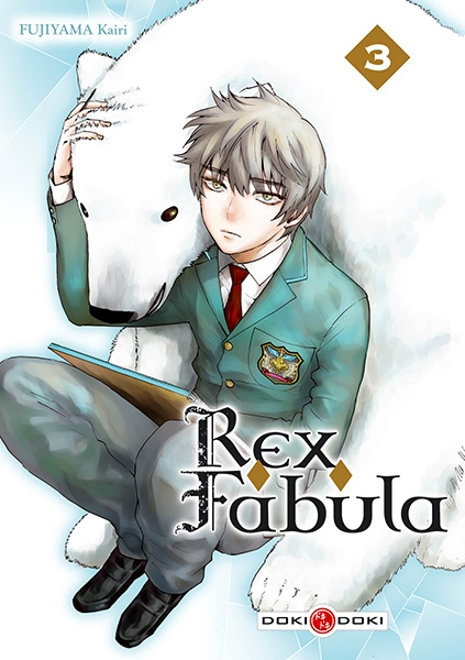 Couverture Rex Fabula, tome 3