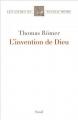 Couverture L'invention de dieu Editions Seuil 2014
