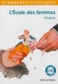 Couverture L'Ecole des femmes Editions Flammarion (GF - Etonnants classiques) 2012