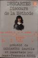 Couverture Discours de la méthode / Le discours de la méthode Editions Le Livre de Poche (Classique) 1978