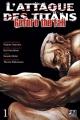 Couverture L'attaque des Titans : Before the fall, tome 01 Editions Pika (Seinen) 2014