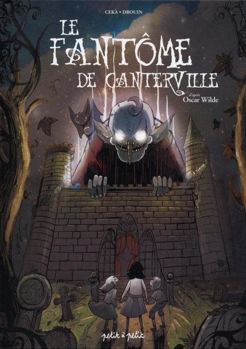 Couverture Le fantôme de Canterville (Céka et Drouin)