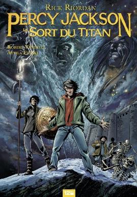 Couverture Percy Jackson (comics), tome 3 : Le Sort Du Titan