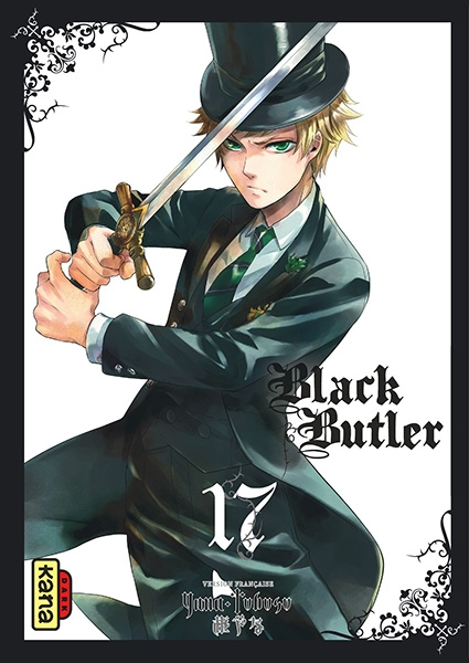 Couverture Black Butler, tome 17