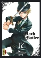 Couverture Black Butler, tome 17 Editions Kana (Dark) 2014
