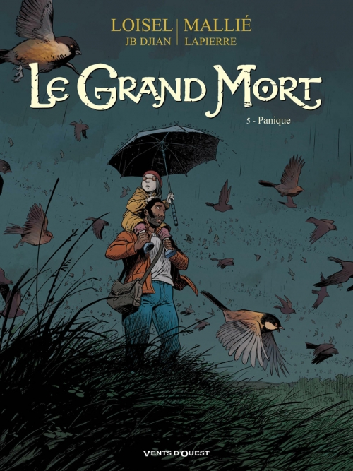 Couverture Le Grand Mort, tome 5 : Panique