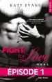 Couverture Fight for love, tome 1 : Real Editions Hugo & cie 2014