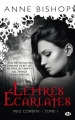 Couverture Meg Corbyn, tome 1 : Lettres Ecarlates Editions Milady 2014