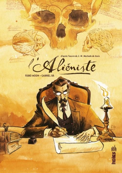 Couverture L'aliéniste (comics)
