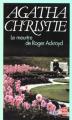 Couverture Le meurtre de Roger Ackroyd Editions Le Livre de Poche 1993