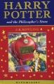Couverture Harry Potter, tome 1 : Harry Potter à l'école des sorciers Editions Bloomsbury 2001