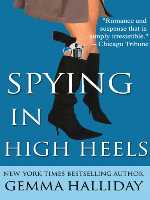 Couverture Maddie Springer / High Heels Mysteries, book 1: Spying in High Heels