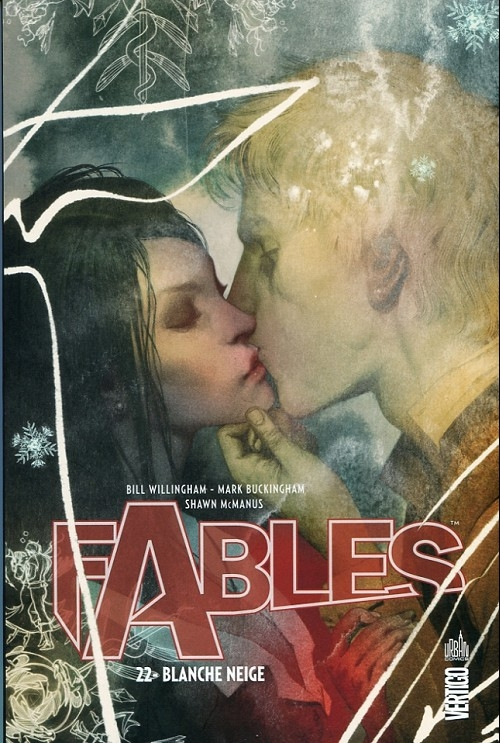 Couverture Fables, tome 22 : Blanche Neige