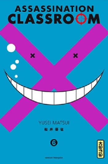 Couverture Assassination classroom, tome 06