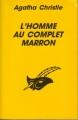 Couverture L'Homme au complet marron Editions Librairie des  Champs-Elysées  (Le masque) 1948