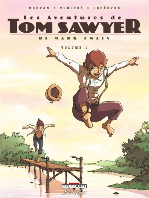 Couverture Les aventures de Tom Sawyer de Mark Twain, tome 1