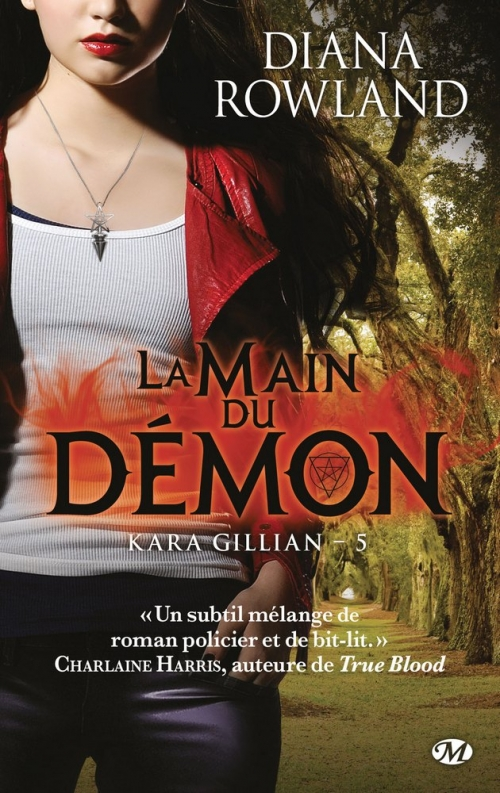 Couverture Kara Gillian, tome 5 : La main du démon