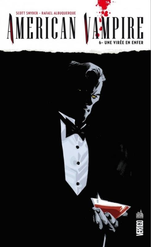 Couverture American Vampire, tome 6 : Une Virée en enfer