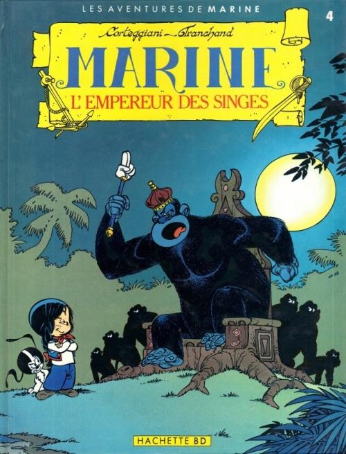 Couverture Marine, tome 4 : L'Empereur des singes