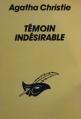 Couverture Témoin indésirable Editions Le Masque 1994