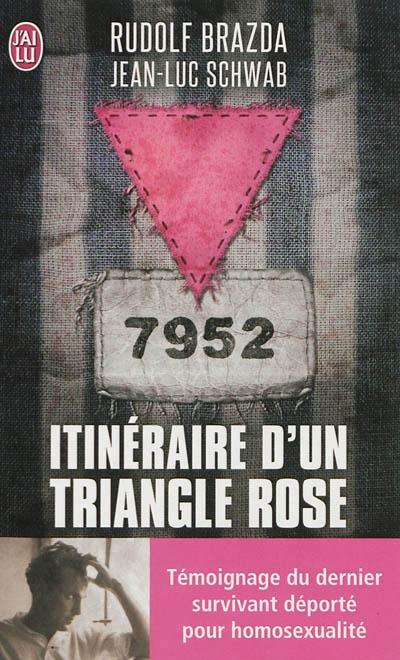 Couverture Itinéraire d'un triangle rose