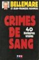 Couverture Crimes de sang, tome 1 Editions TF1 1992