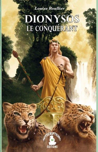 Couverture Dionysos le conquérant