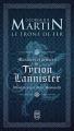 Couverture Maximes et pensées de Tyrion Lannister Editions J'ai Lu (Fantasy) 2014