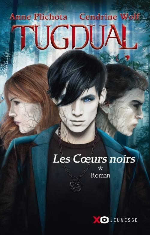 Couverture Tugdual, tome 1 : Les coeurs noirs