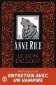 Couverture Les Chroniques du don du loup, tome 1 : Le Don du Loup Editions J'ai Lu 2014