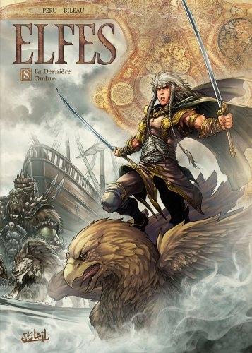 Couverture Elfes, tome 08 : La dernière ombre