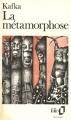 Couverture La métamorphose Editions Folio  1985