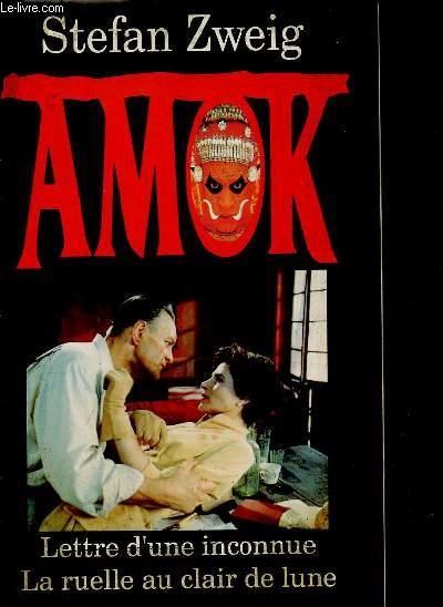 Couverture Amok, Lettre d'une inconnue, Ruelle au clair de lune