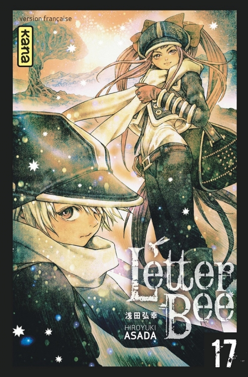 Couverture Letter Bee, tome 17