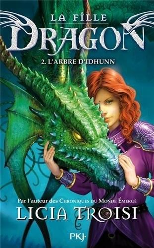 Couverture La fille dragon, tome 2 : L'Arbre d'Idhunn