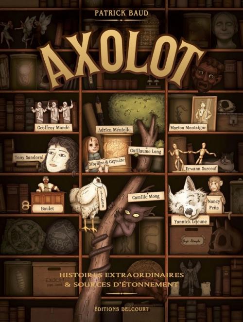 Couverture Axolot, tome 1