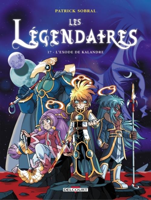 Couverture Les Légendaires, tome 17 : L'exode de Kalandre