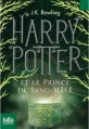 Couverture Harry Potter, tome 6 : Harry Potter et le prince de sang-mêlé Editions Folio  (Junior) 2012