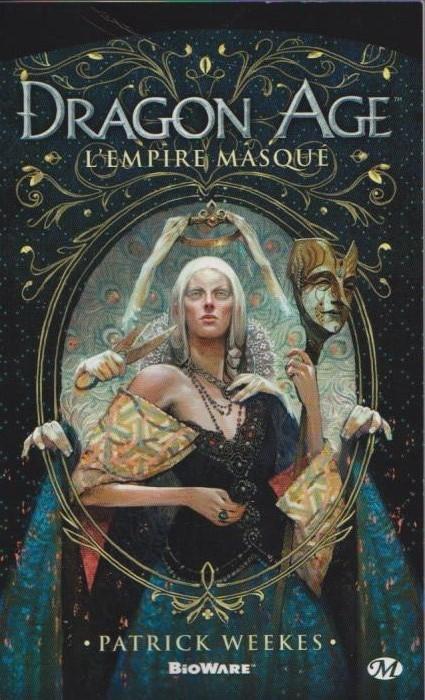 Couverture Dragon Age, tome 4 : L'Empire masqué