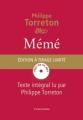 Couverture Mémé Editions L'Iconoclaste 2014