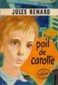 Couverture Poil de carotte Editions J'ai Lu 1957