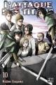 Couverture L'attaque des Titans, tome 10 Editions Pika (Seinen) 2014
