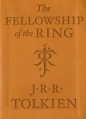 Couverture Le Seigneur des Anneaux, tome 1 : La communauté de l'anneau / La fraternité de l'anneau Editions Houghton Mifflin Harcourt (Collector) 2014