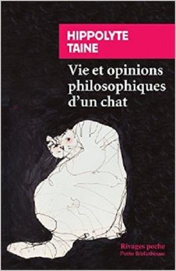 Couverture Vie et opinions philosophiques d'un chat