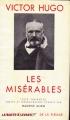 Couverture Les misérables, intégrale Editions Gallimard  (Bibliothèque de la pléiade) 1951