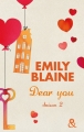 Couverture Dear you, intégrale, tome 2 Editions Harlequin (&H) 2014