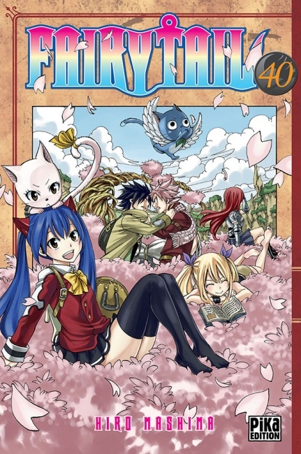Couverture Fairy Tail, tome 40