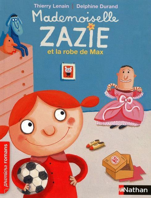 Couverture Mademoiselle Zazie et la robe de Max