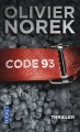 Couverture Code 93 Editions Pocket (Thriller) 2014