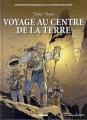 Couverture Voyage au centre de la Terre Editions Glénat (Les incontournables de la littérature en BD) 2010